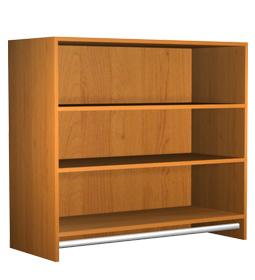 Medium Hanging Section Cabinet 36x33x15 Closet Cabinets